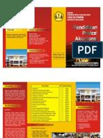 Brosur Program PPAk Universitas Padjajaran Bandung