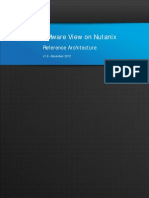 VMware View Nutanix Reference Architecture