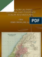 Dilema Konflik Israel – Palestina Dari Perspektif Hukum