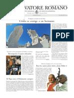 L´OSSERVATORE ROMANO - 12 Septiembre 2014.pdf