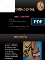 Expo de Anto Dental Oclusion
