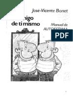 Bonet Jose Vicente - Se Amigo de Ti Mismo