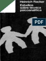 Estudios sobre técnica psicoanalítica (OCR)