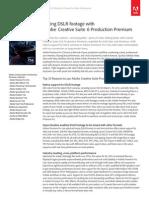 Adobe Production Premium Cs6 for Dlsr