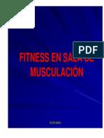Sala_musculacion- Elementos y Máquinas