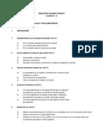 TEST de Preguntas D-E y Clase a-1 Y a-2