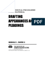 Drafting Pleadings and Deeds