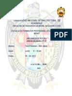 Laboratorio N° 01 RECONOCIMIENTO DE EQUIPOS DEL LABORATORIO DE MECÁNICA DE ROCAS