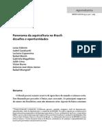 Panorama Geral Da Aquicultura No Brasil (1)