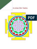 20231210 How to Draw Shri Yantra in 14 Steps