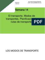 Sesión 14 Transporte