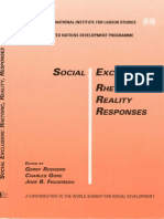 Reconceptualising Social Disadvantage