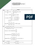 RI H2 Maths 2013 Prelim P2 Solutions