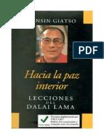 Giatso, Tensin - Hacia la paz interior, lecciones del Dalai Lama [Libros en español - budismo].pdf