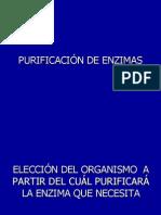 Purificación de Enzimas i 2014