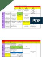 Jadwal Ecce 2 Tahun Ajaran 2013