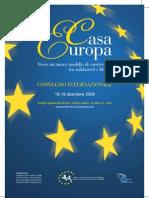Locandina Convegno Casa Europa