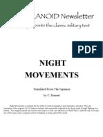 Paranoid Night Movements Reprint