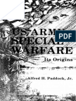 Alfred H. Paddock - Us Army Special Warfare, Its Origins, Psychological and Unconventional Warfare 1941-1952 (1982)