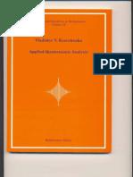(Applied Quaternionic Analysis 28 Research and Exposition in Mathematics) Vladislav v. Kravchenko. 28-Heldermann Verlag (2003)