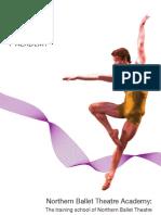 Northern Ballet Theatre Academy - 2010 Brochure