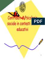 1.Contributi Di Psicologia Sociale