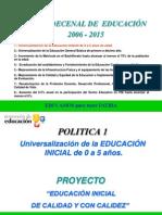 Plan Denal de Educacion