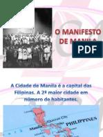 O Manifesto de Manila