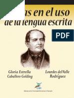 Libro Dudas en El Uso de La Lengua Escrita(1)