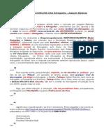 OAB - Origem do CONLÚIO entre Advogados - Joaquim Barbosa