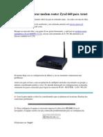 [GUIA] Configurar modem router Zyxel 660 para Arnet.docx
