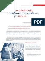 Mercadotecnia, Numeros, Matematicas y Ciencia