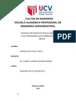 Proyecto Exportacion de Quinua