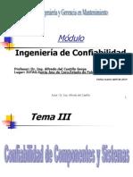 Ingeniería de Confiabilidad ( Temas III y IV)