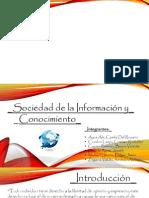 Sociedad de La Informacion y Conocimiento