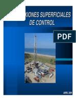 Conexiones Superficiales de Control
