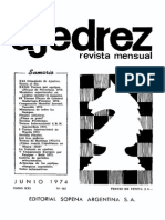 Ajedrez 242-Jun 1974 Ocr