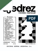 Ajedrez 250-Feb 1975 Ocr