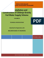 Chilenje Gravity Fed Water Supply Scheme-Technical Specifications_005