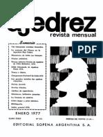 Ajedrez 273-Ene 1977 Ocr
