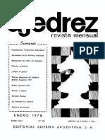 Ajedrez 285-Ene 1978 Ocr