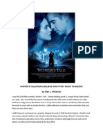 WINTER'S TALE/People Believe What They Want