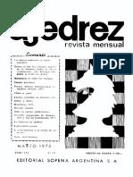 Ajedrez 287-Mar 1978 Ocr