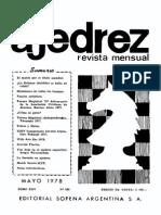 Ajedrez 289-May 1978 Ocr 1