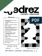 Ajedrez 291-Jul 1978 Ocr