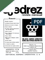 Ajedrez 292-Ago 1978 Ocr