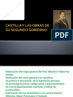 Segundo Gobierno de Ramon Castilla y Obras
