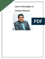 A Report on Strategies of Nandan Nilekani