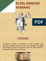 Presentacion Fuentes Del Derecho Romano