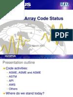 Phased Array Code Status